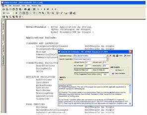 Psychrometric calculator chart analysis software program for Ashrae 62 1 table 6 1