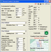 Psychrometric Calculator Chart Analysis Software Program