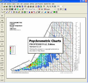 Psychrometric Calculator Chart Analysis Software Program for