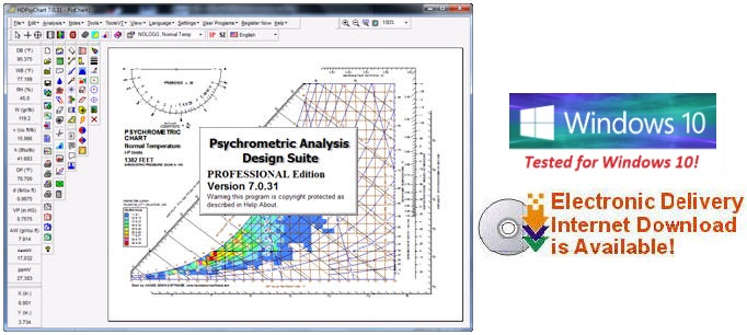 Psychrometric Calculator Chart Analysis Software Program For Engineers